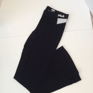 FILA Sport Black Athletic/ Yoga Pants NWOT